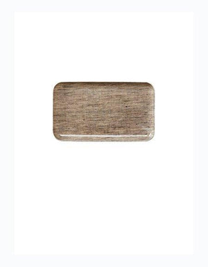 Linen Coating Tray Natural, Small