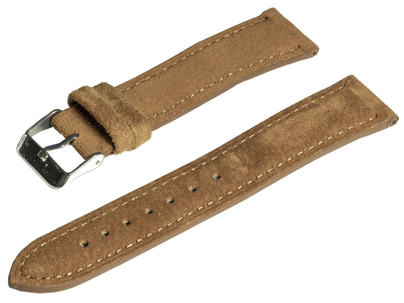 raymond and pearl swiss watches brown suede watch strap