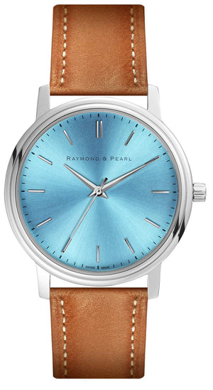 raymond and pearl swiss made blue