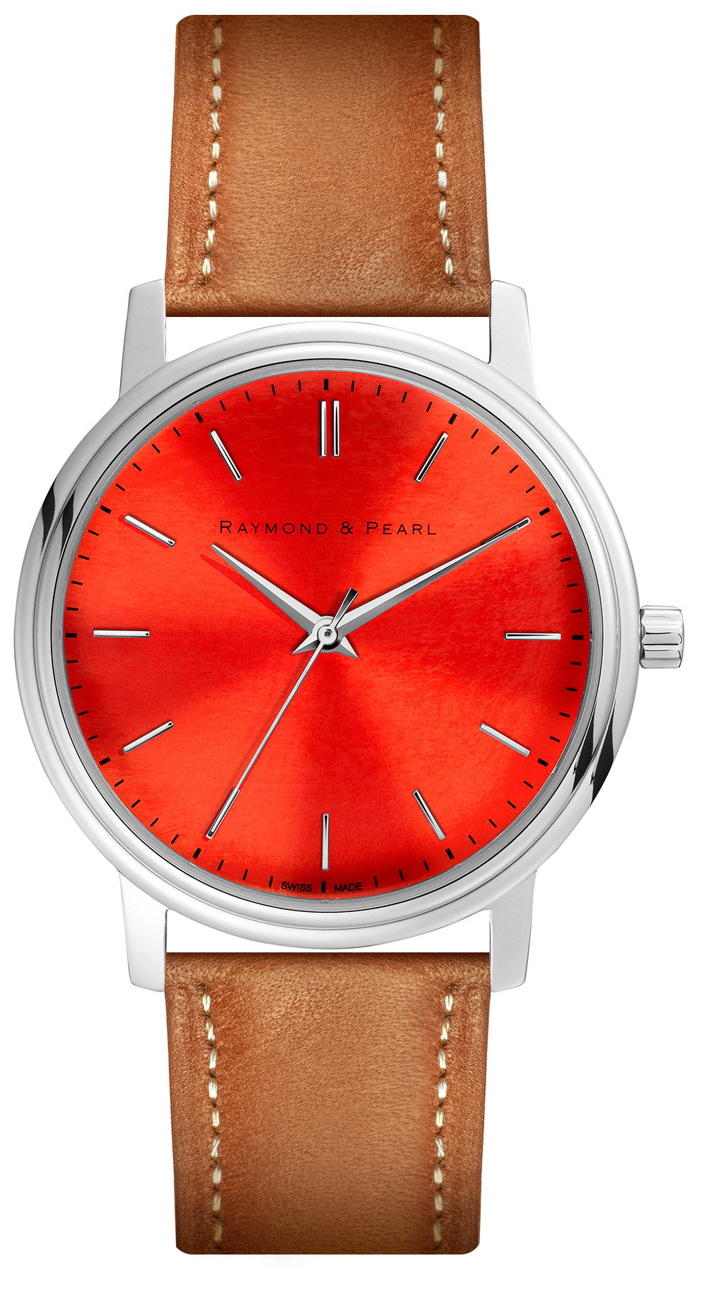 raymond and pearl swiss made red