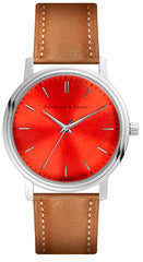 Revolution Red - Leather Oak