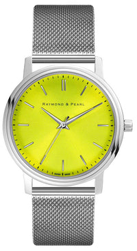 raymond and pearl swiss made yellow