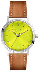 Sublime Yellow - Leather Oak