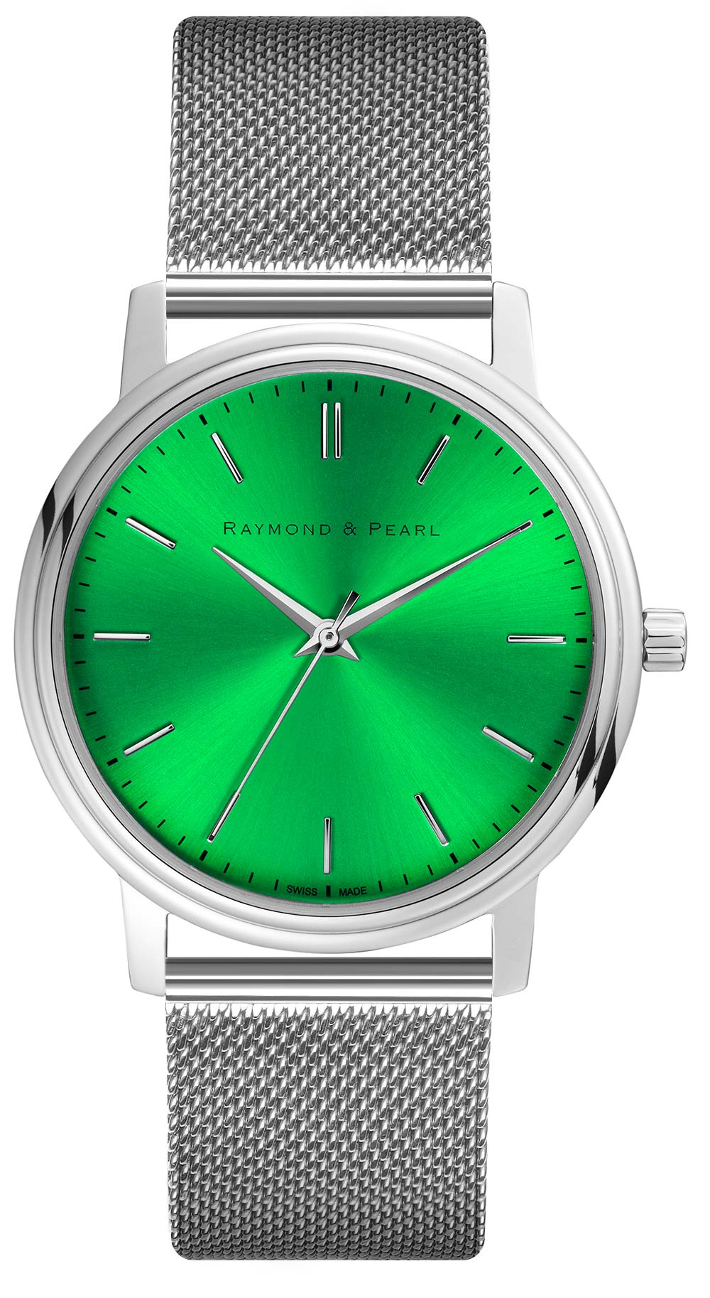 raymond and pearl swiss made green