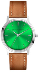 Adventure Green - Leather Oak