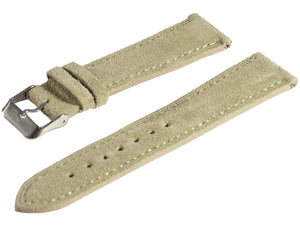 raymond and pearl swiss watches sand suede watch strap