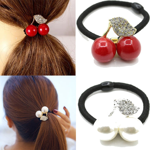 CHERRY hair bands