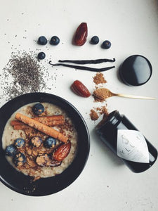 Rezept Porridge Zimt Blaubeere Superfood