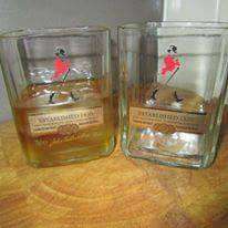 Johnnie Walker Red Scotch Glass