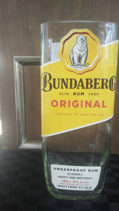 Bundabeg Rum Original label Stein