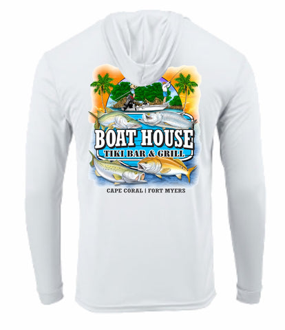 Inshore Slam Long Sleeve Hooded Tee