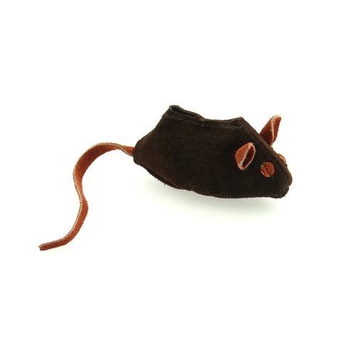 Aussie Leather Mouse - Brown