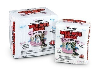 Four Paws Little Dog Wee Wee Pads 28 count 16.5