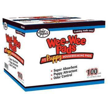 Four Paws Four Paws Wee Wee Pads 100 Count Bag 22