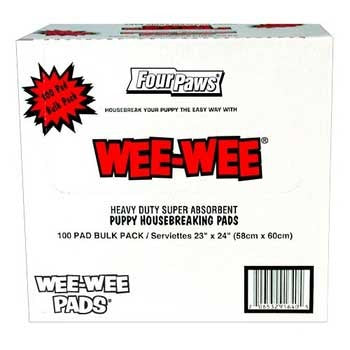 Four Paws Wee Wee Pads 100 Count 22