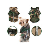 Base Jumper Raincoat Wind Breaker by Puppia - Camo