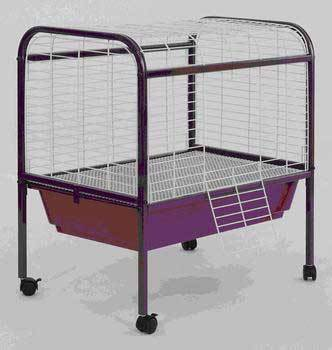 Small Animal Cage Deluxe With Stand