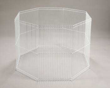 8 - panel Wire Ferret Playpen 29
