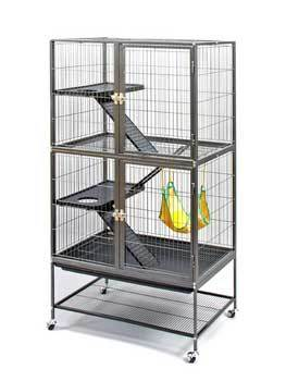Feisty Ferret Home Floor Cage 31x20x55