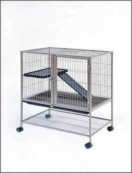 Frisky Ferret Home Floor Cage 25x17x34