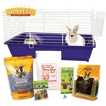 Ware Home Sweet Home Rabbit Kit Sun 28 X 17 X 15.5