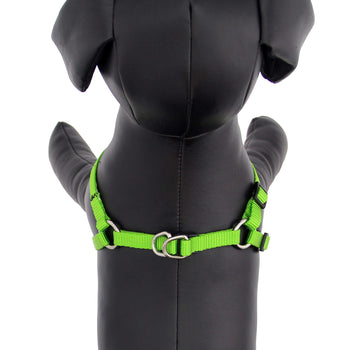 Guardian Gear Two-Step Dog Harness - Electric Lime