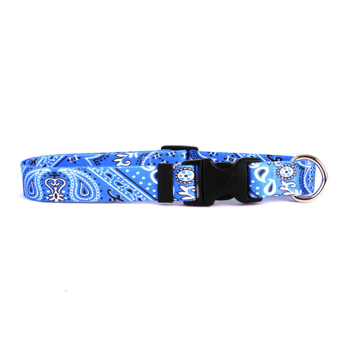Bandana Dog Collar by Yellow Dog - Blue