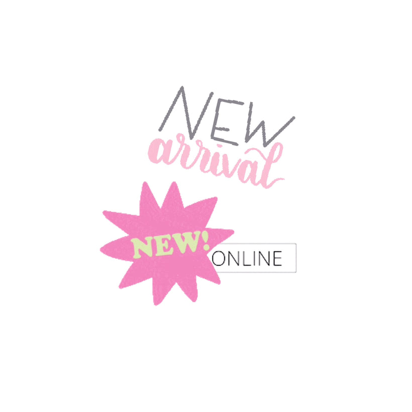 New Arrivals and New Online