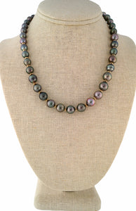 Beachcomber Design Short Tahitian Pearl Strand Necklace