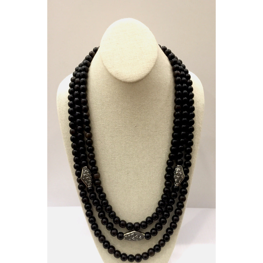 Kapa Beaded Necklace (Long)