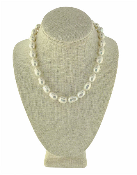 Short Baroque Pearl Strand Necklace