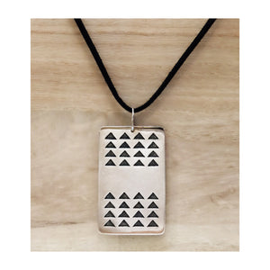 Ka Makaloa Dog Tag Necklace