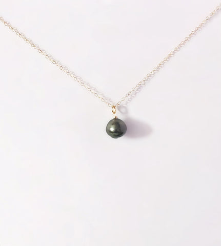 Vea Single Tahitian Pearl Necklace