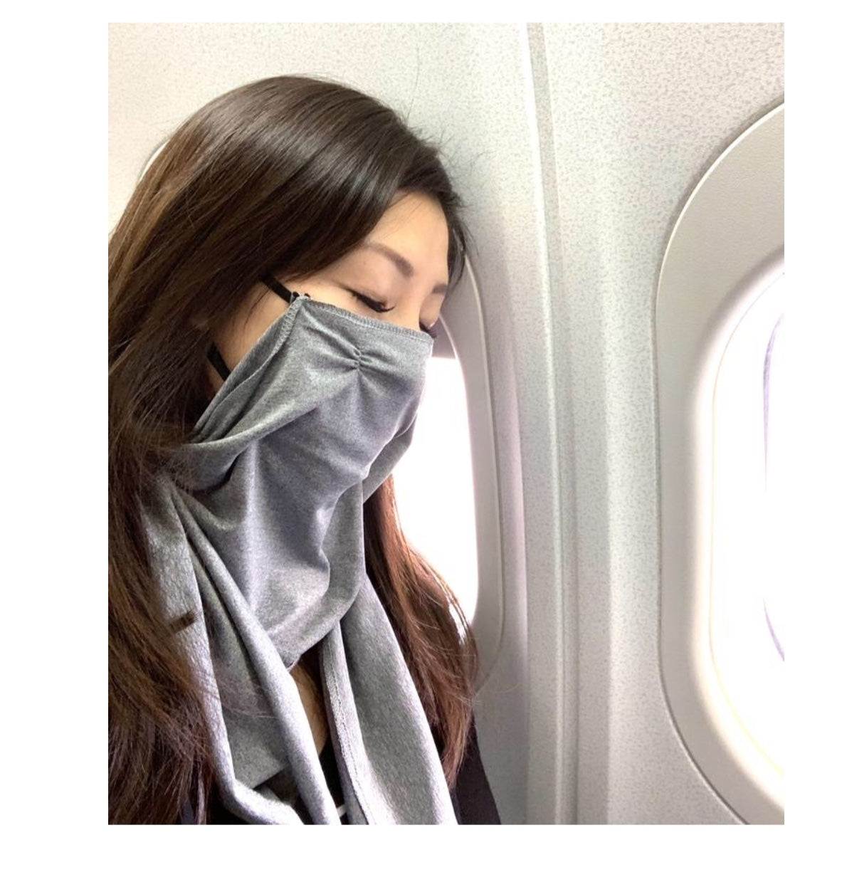 Winged Face Mask Scarf