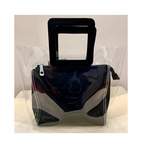 Clear bags with Pouchette
