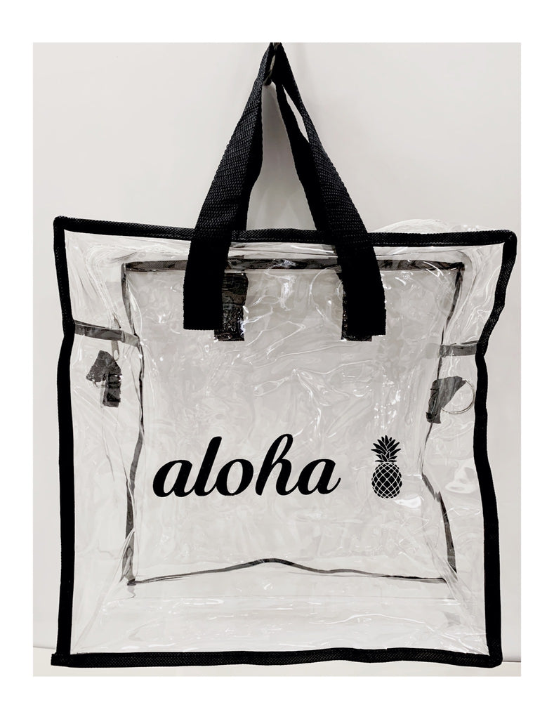 Clear Aloha Crossbody Bag