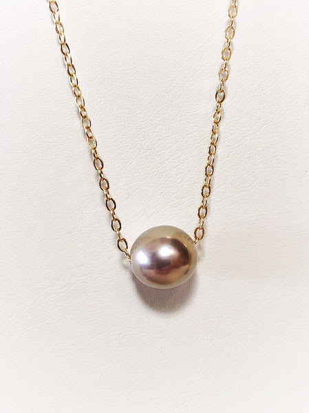 Edison Pearl Floater Necklace