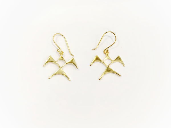 'Iwa Ne'ekau Earrings