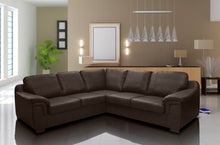 Amy Faux Leather Corner Sofa