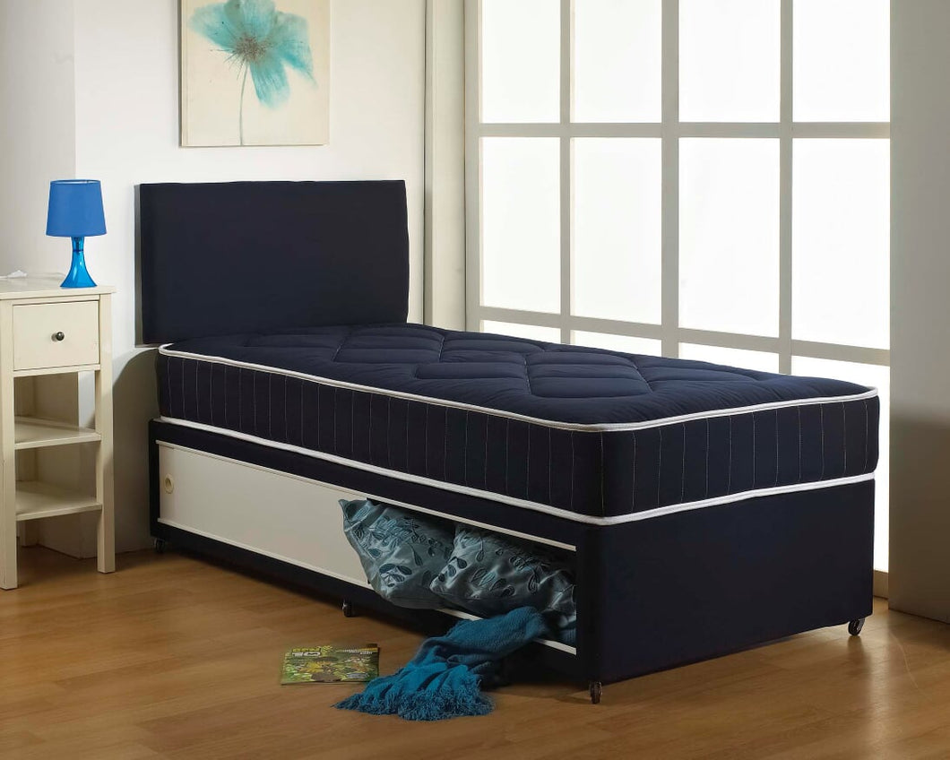 Blue Cotton Boys Bed