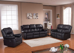Memphis Leather Recliner Sofa