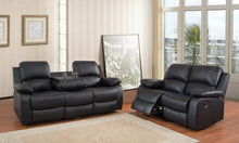 Valencia Leather Recliner Sofa