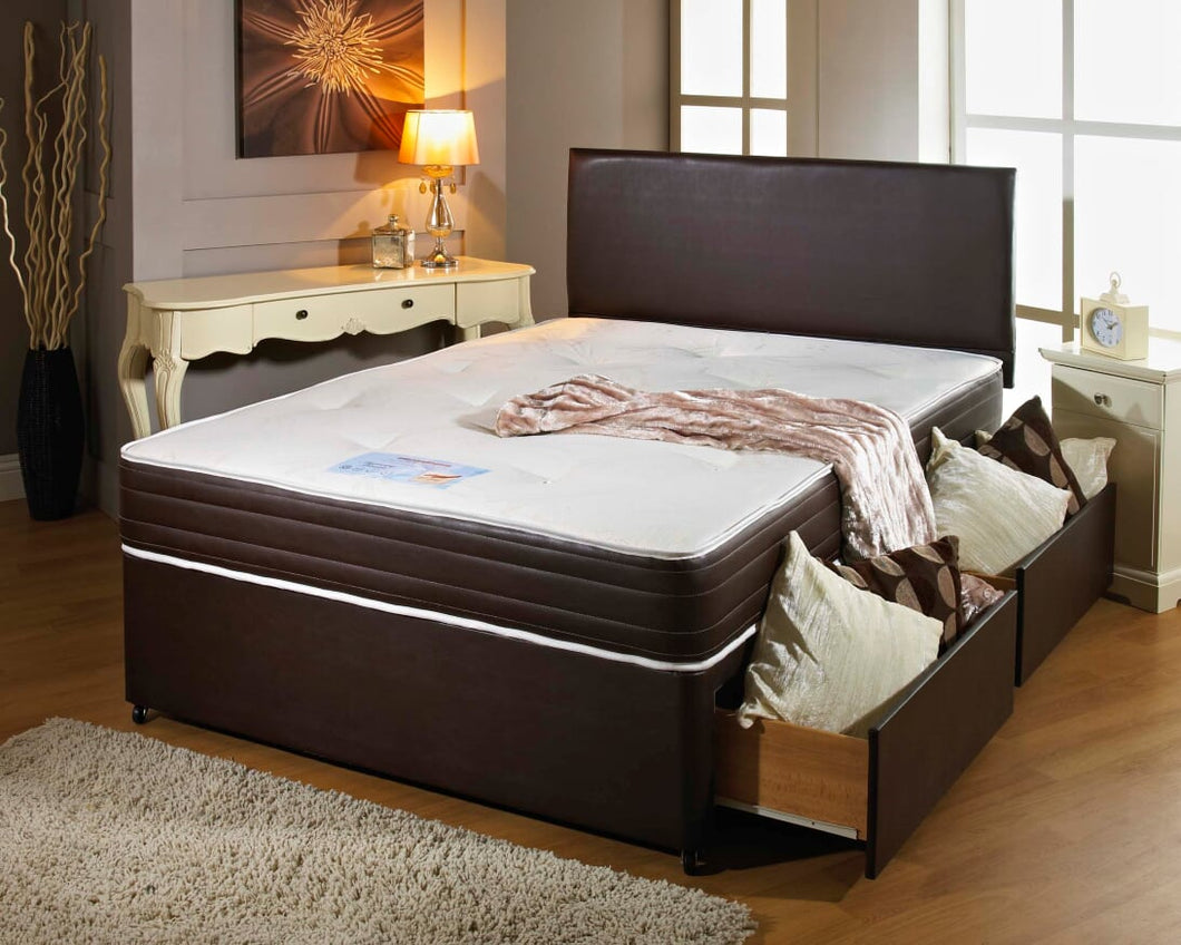 Marlo Leather Bed