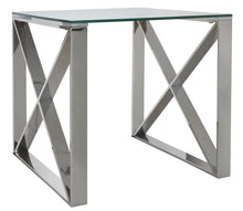 Montana Stainless Steel End Table