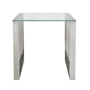 Harvard Stainless Steel End Table