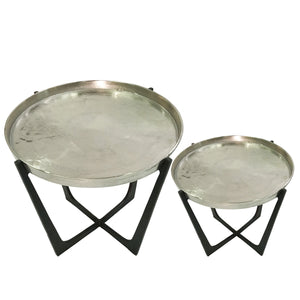 Evelyn Set of 2 Round End Tables