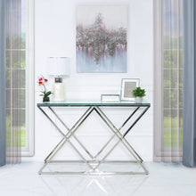 Luxe  Stainless Steel Console Table