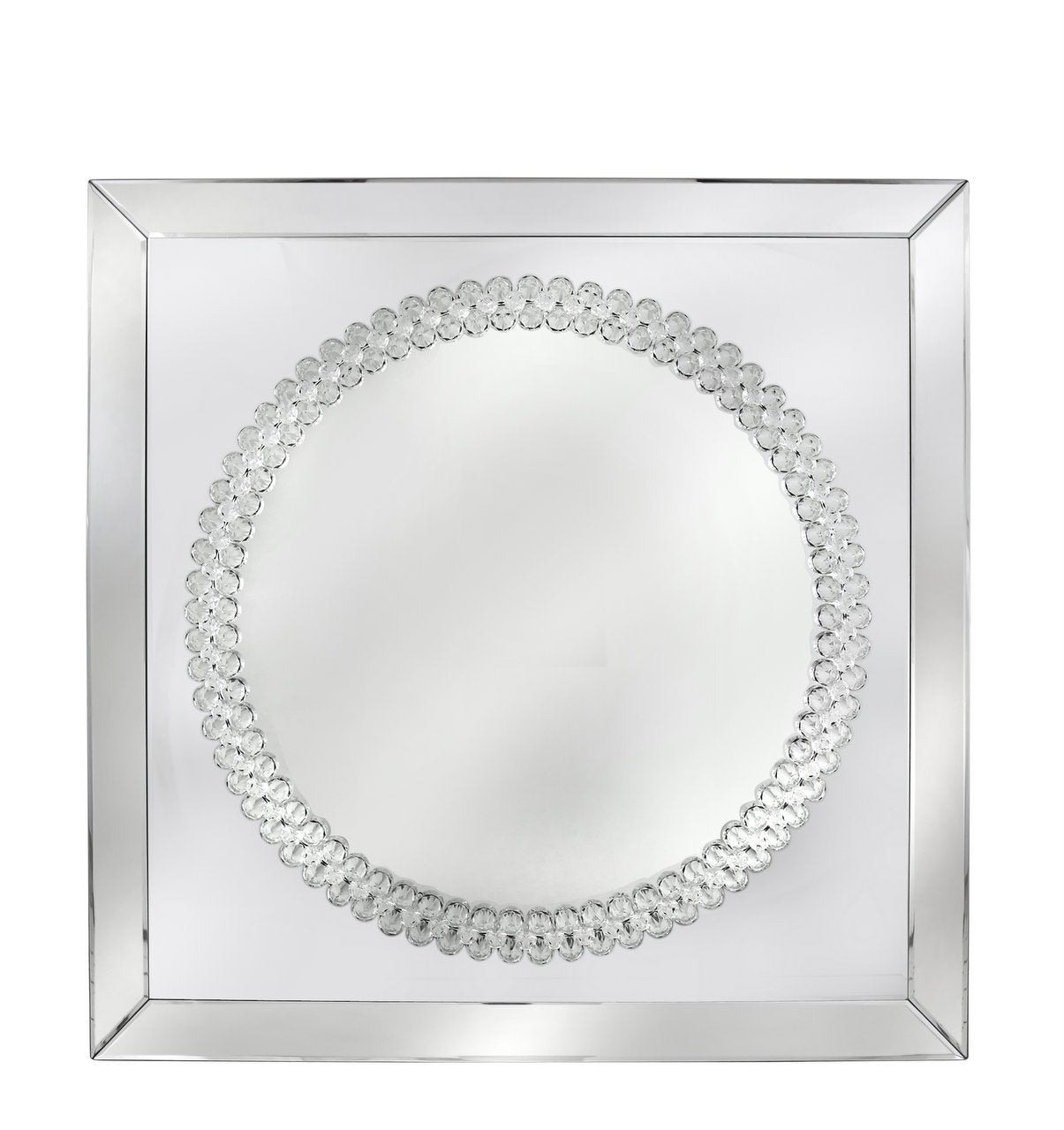 Crystal Square Wall Mirror