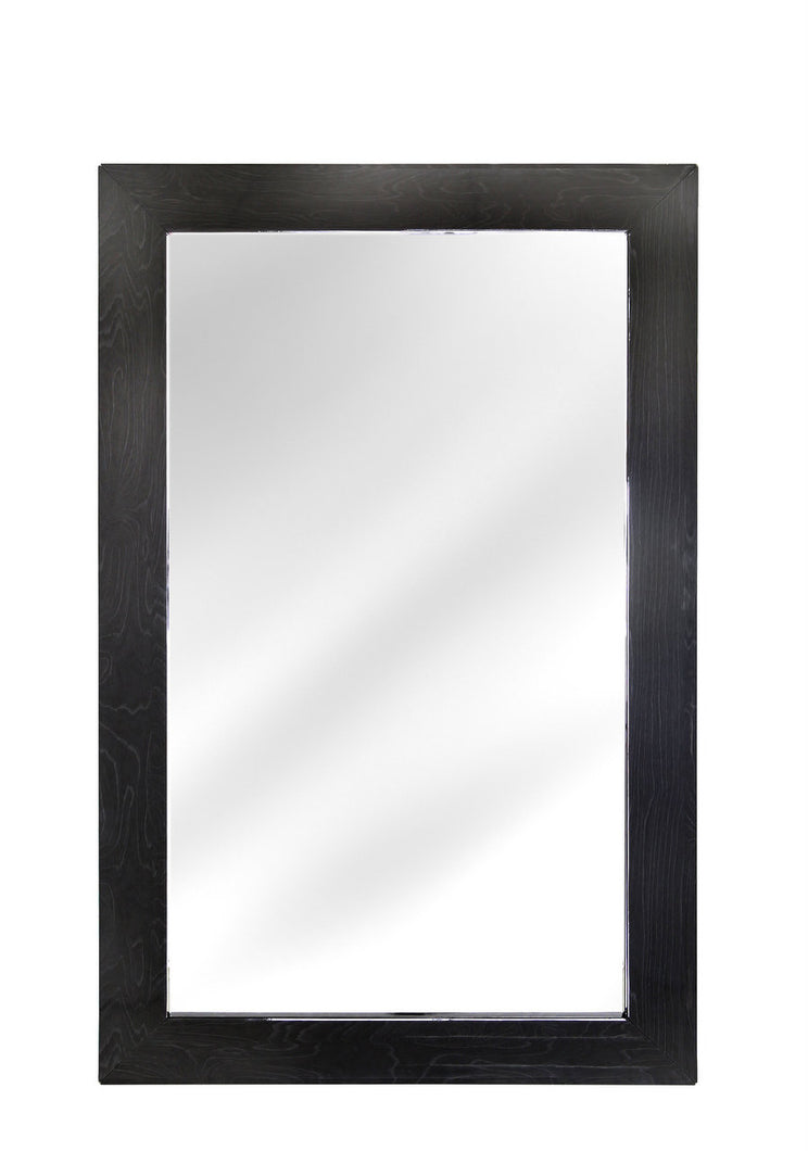 Aliyah Dark Grey Walnut Wall Mirror