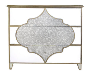 Gatsby Mirrored 3 Drawer Chest
